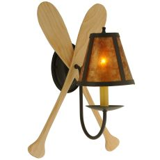 """12"""" W Paddle Wall Sconce"""