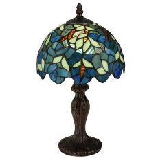 "14"" H Nightfall Wisteria Mini Lamp"