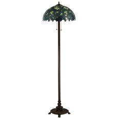 "63"" H Nightfall Wisteria Floor Lamp"