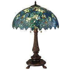 "26"" H Nightfall Wisteria Table Lamp"