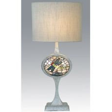 "31.5"" H Cameo Dragonfly Lighted Base Table Lamp"