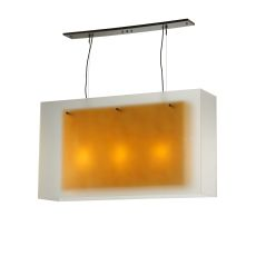 "48"" L Quadrato Shadow Box Oblong Pendant"