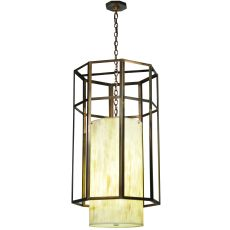 """23.5"""" W Cilindro Caged Pendant"""
