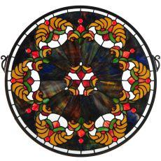 "18"" W X 18"" H Middleton Stained Glass Window"