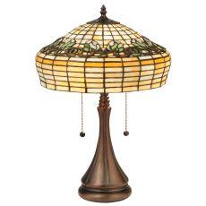 "21.5"" H Duffner & Kimberly Raised Tulip Table Lamp"