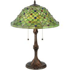 "25.5"" H Diamond & Jewel Table Lamp"