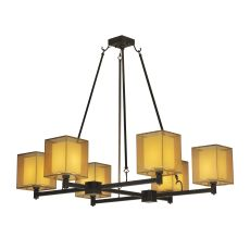"48"" W Horizon Bay 6 Lt Chandelier"
