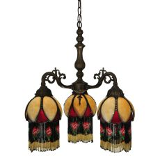 "20"" W Isabella 3 Arm Chandelier"