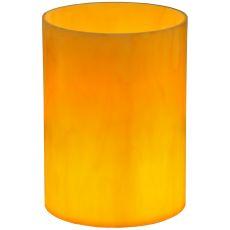"6"" W X 8"" H X 1/8"" Tk Cylinder Earth Marble Acrylic Flat Top Shade"