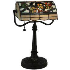 """15"""" H Vineyard Banker'S Lamp"""