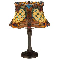 "22.5"" H Hanginghead Dragonfly Table Lamp"
