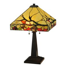 "25"" H Woodland Berries Table Lamp"