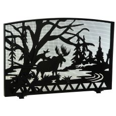 "48"" W X 33"" H Moose Creek Fireplace Screen"