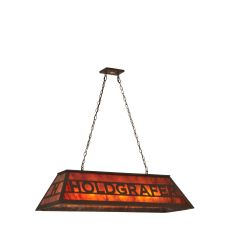 "48"" L Personalized Holdgrafer Oblong Pendant"