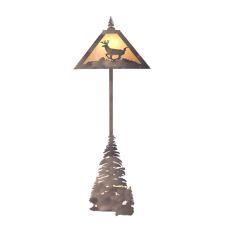 """74"""" H Lone Deer Floor Lamp"""