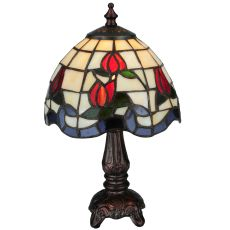 "12"" H Roseborder Mini Lamp"