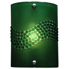 "8.25"" W Metro Fusion Green Pietre Wall Sconce"