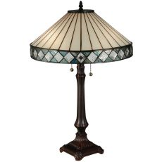 "25"" H Diamondring Table Lamp"