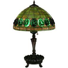 "24"" H Turtleback Table Lamp"