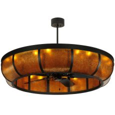 """56"""" W Prime Dome W/Uplights Chandel-Air"""