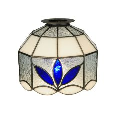 "9.5"" W Petals Fan Light Shade"