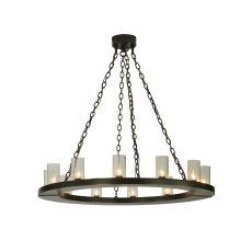 """42"""" W Loxley 12 Lt Chandelier"""