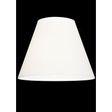"10"" W X 7.75"" H Parchment White Shade"