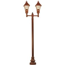"""46.5"""" L Carefree 2 Lantern Outdoor Street Lamp"""