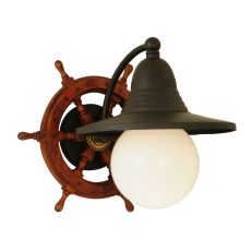 "12.5"" W Nautical Wall Sconce"