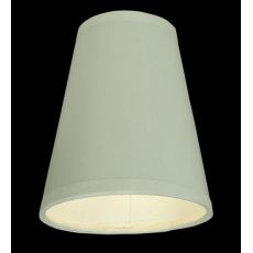 """4"""" W X 4.75"""" H Parchment White Shade"""