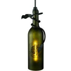 "5"" W Personalized Thirsty Owl Wine Bottle Mini Pendant"