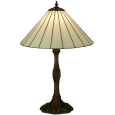 """26.5"""" H Duncan White Table Lamp"""