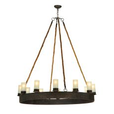 "49.5"" W Costello Ring 12 Lt Chandelier"