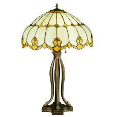 """30"""" H Nouveau Dome Table Lamp"""