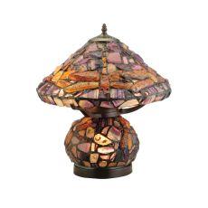 "18.5"" H Dragonfly Agata Table Lamp"
