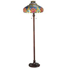 "60"" H Dragonfly Rose Floor Lamp"