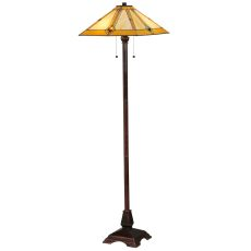 "62"" H Diamond Mission Floor Lamp"