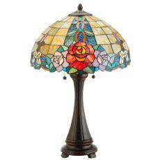 "25"" H Rose Vine Table Lamp"