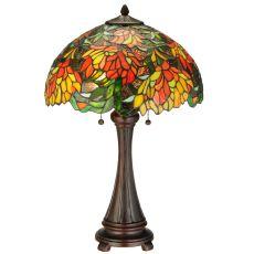 "25"" H Lamella Table Lamp"