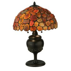 """24"""" H Agata Red Table Lamp"""