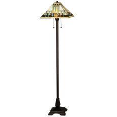 """62"""" H Prairie Peaks Floor Lamp"""