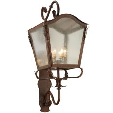 "23"" W Christian Lantern Wall Sconce"