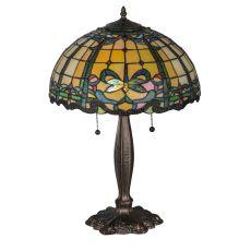 "24"" H Dragonfly Trellis Table Lamp"