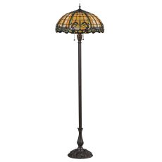 "63"" H Dragonfly Trellis Floor Lamp"