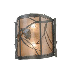 """15"""" W Whispering Pines Wall Sconce"""