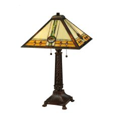 """26.5"""" H Carlsbad Mission Table Lamp"""