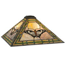 """17.5"""" Sq Butterfly Shade"""