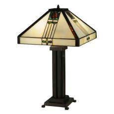 """23.5"""" H Pasadena Rose Table Lamp"""