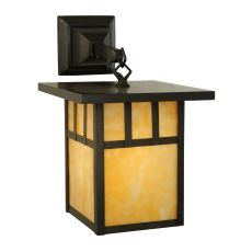 """9"""" W Hyde Park Double Bar Mission Hanging Wall Sconce"""