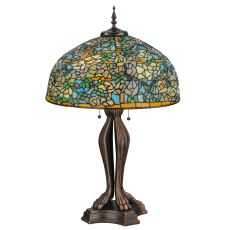 "36"" H Tiffany Laburnum Trellis Table Lamp"